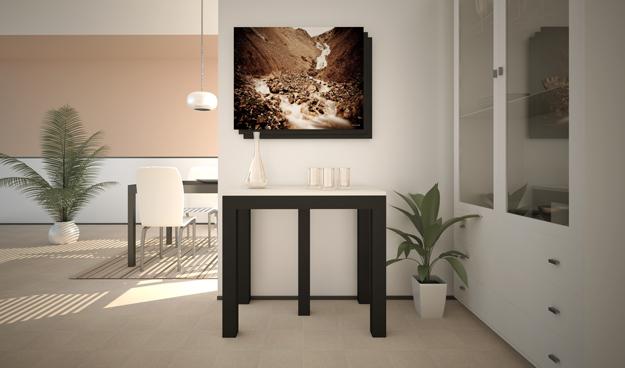 LG LESMO: Tavoli consolle allungabili: riconfigurare lo spazio a seconda dell...
