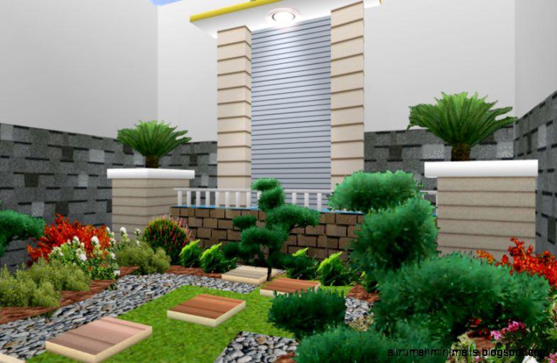 20 Gambar Desain Taman Rumah Minimalis Terbaru 2015