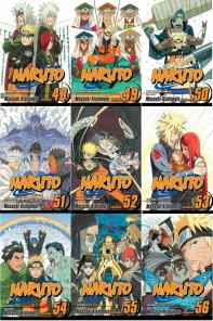 naruto anime - manga cover 48 - 58