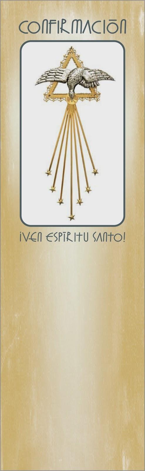 Matrimonio Catolico Sin Confirmacion : Tarjetas y oraciones catolicas separadores confirmaciÓn