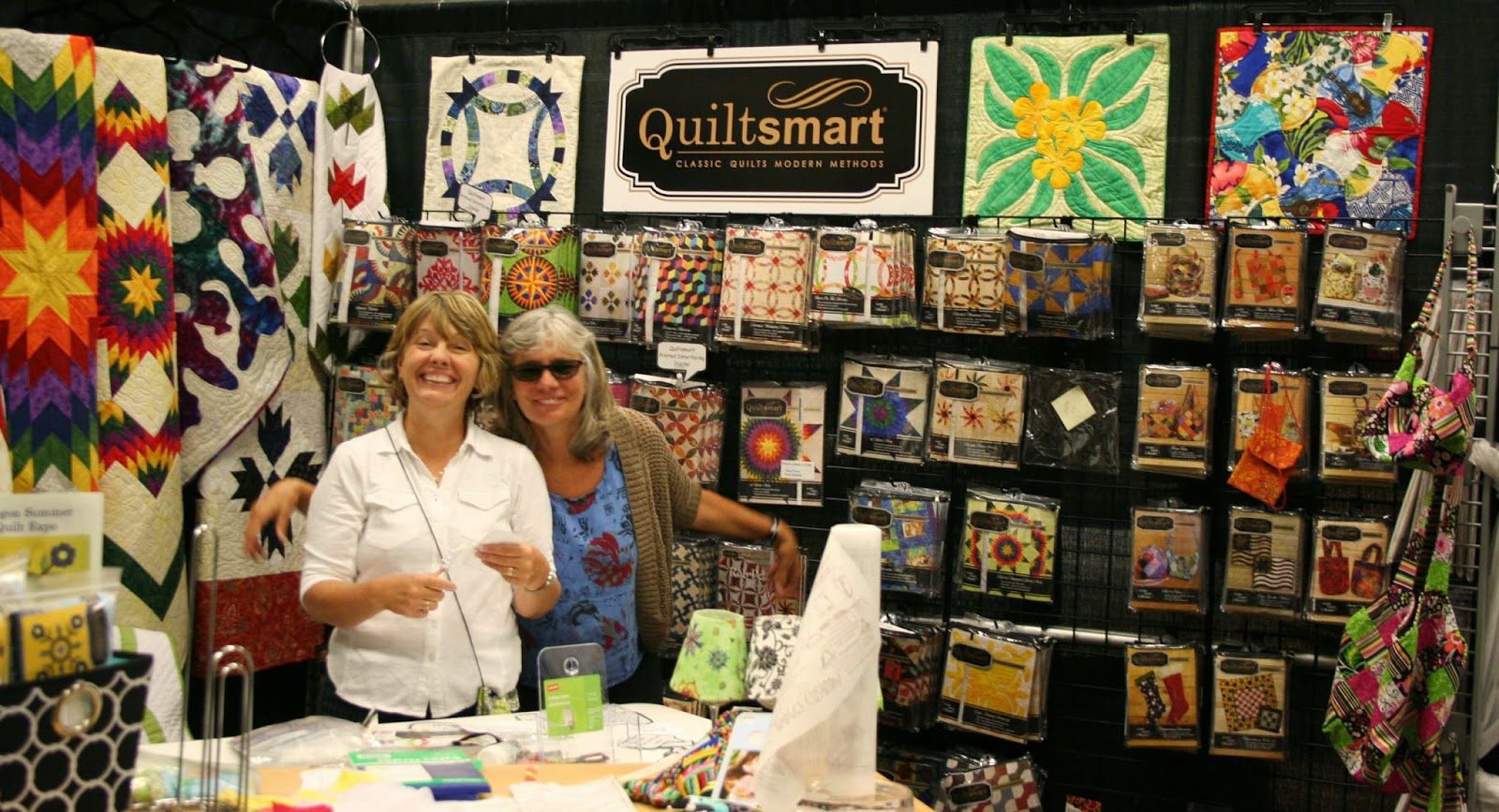 Quiltsmart Maple Leaf and Quiltsmart Bear Claw Patterns