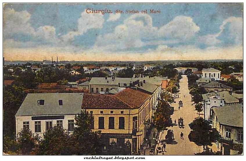 Strada Stefan cel Mare din Giurgiul interbelic