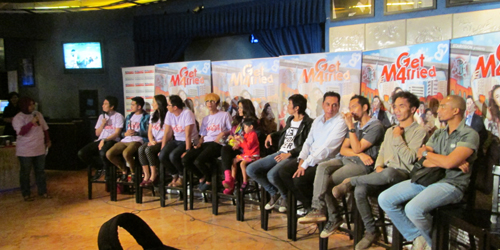 Press Conference Film Get M4rried