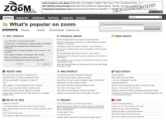 wordpress rss feed template - zoom feed aggregator blogger template best blogger