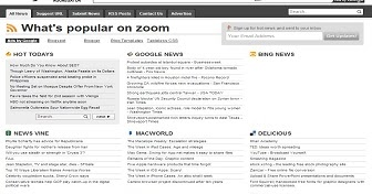 Zoom feed aggregator blogger template best blogger for News aggregator template