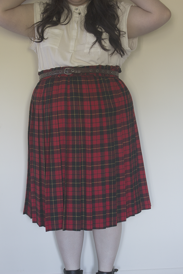 Plaid Party, an outfit on katielikeme.com