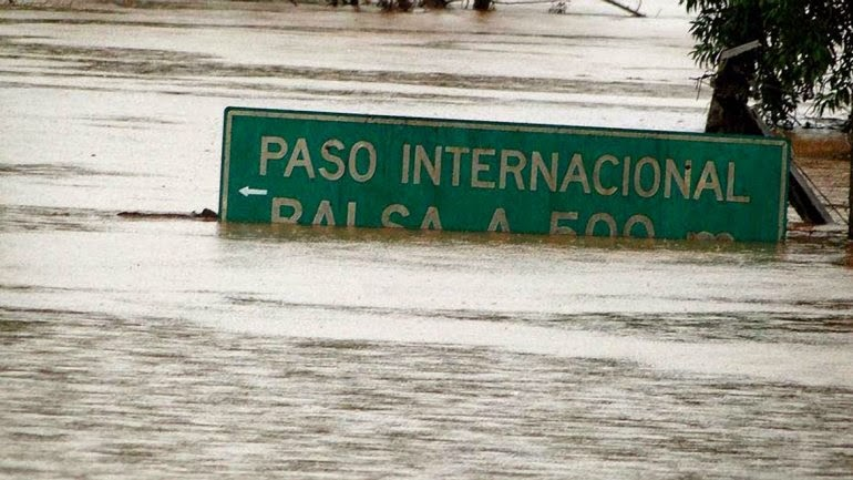 INUNDACIONES ARGENTINA, BRASIL Y PARAGUAY- JULIO 2014