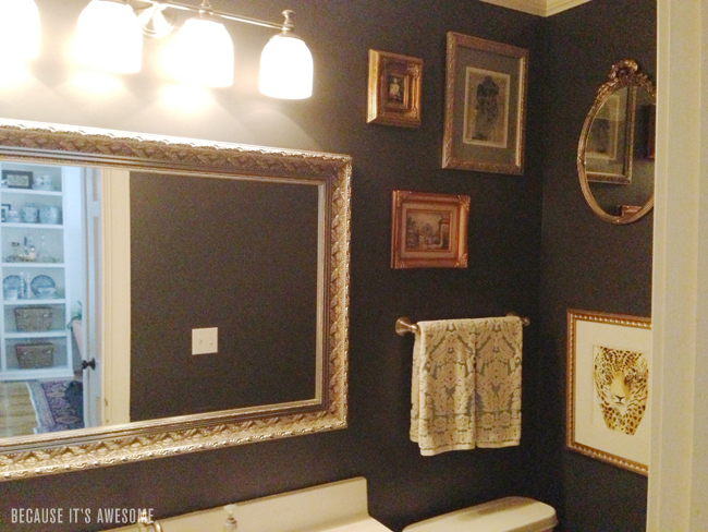 Because It 39 S Awesome The House Powder Room Part Deux
