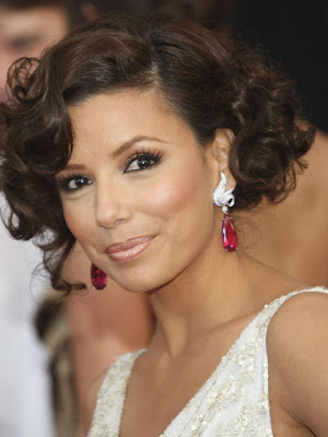 Eva Longoria Gemstone Earrings