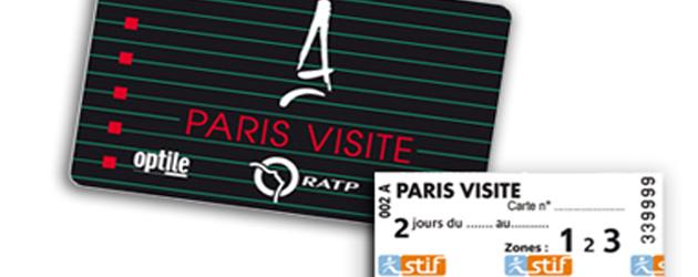 Билет Paris visite можно