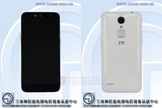 ZTE C880 muncul disitus Tenaa, smartphone selfie murah dengan fitur sensor sidik jari