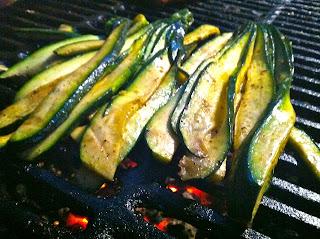 zucchini, grill, Malaysian, veggies, side, squash, turmeric, fenugreek, mustard