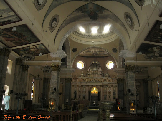 Inside the Binondo Church
