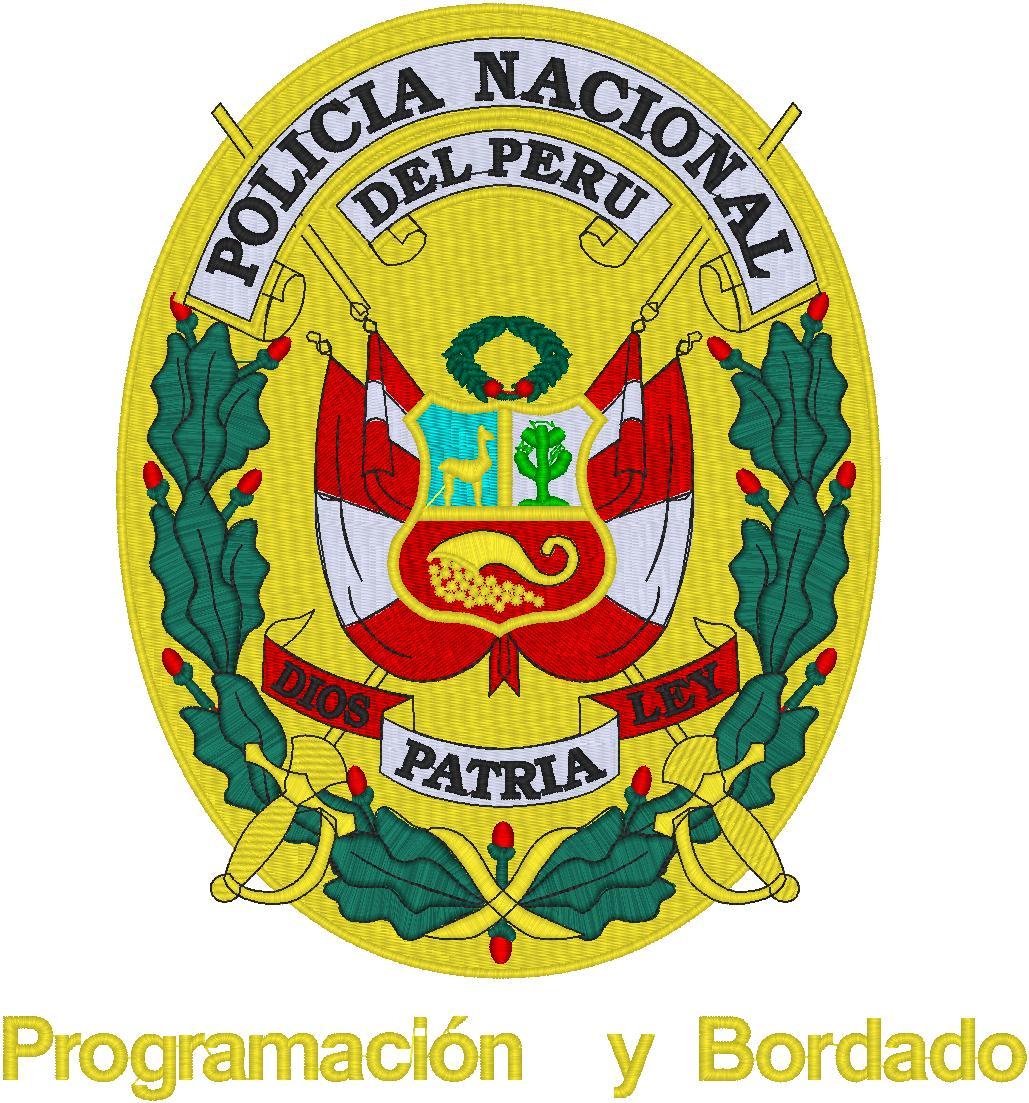 ESCUDO POLICÍA NACIONAL DEL PERU