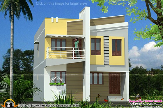 Small double floor home