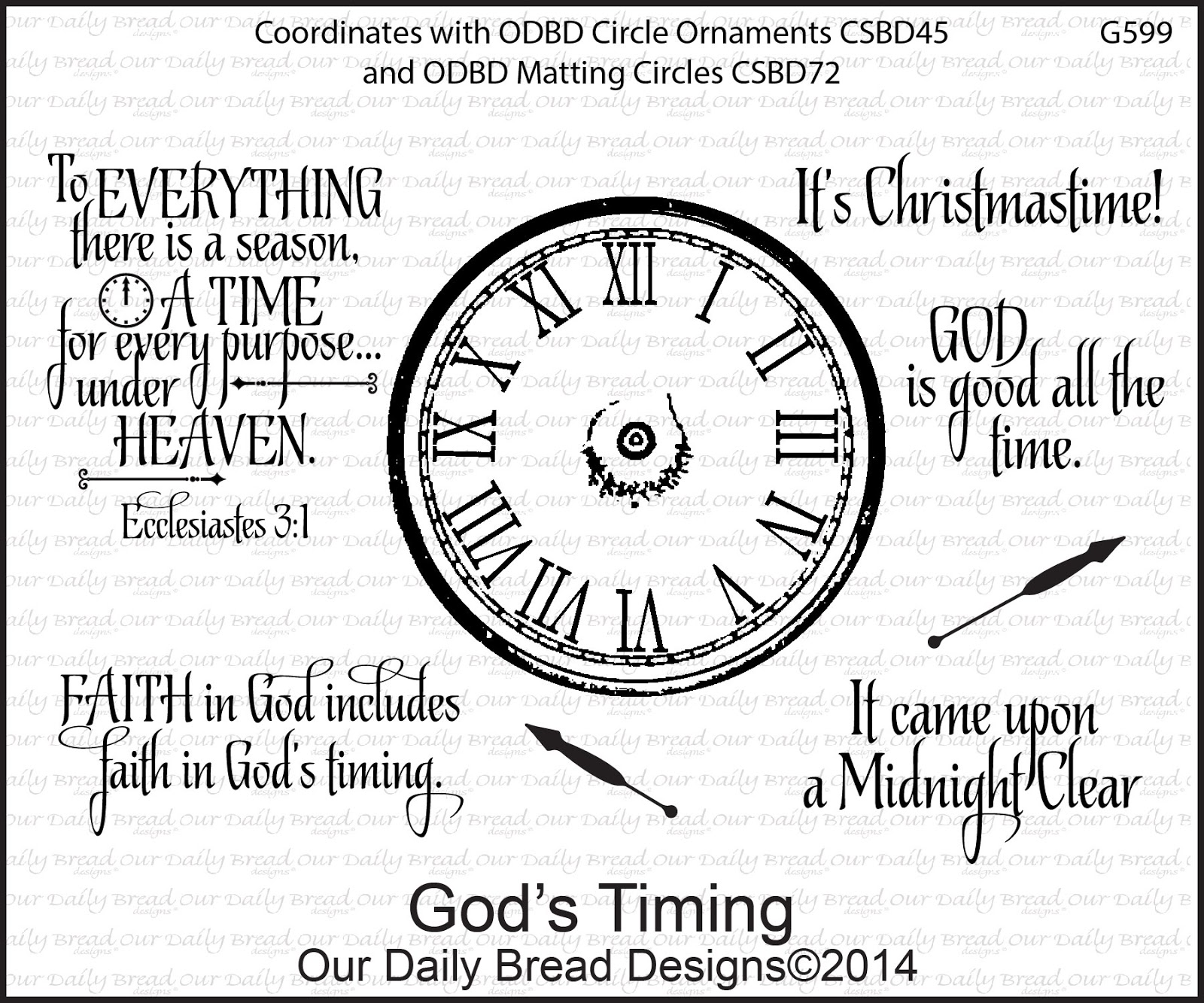 Stamps - Our Daily Bread Designs God's Timing