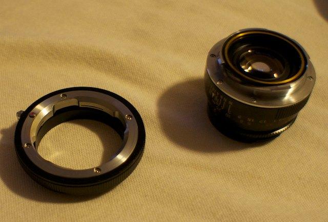 sony NEX lens Adapter Adjust Infinity