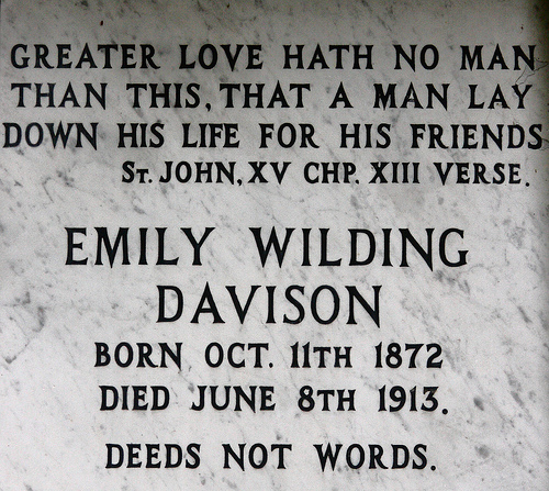 emily davison suicide or accident essay