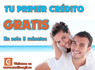 La financiera online Creditoagil.es da crédito sin intereses y sin gastos.