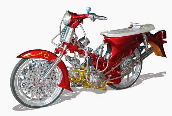 Top modifikasi motor honda kalong