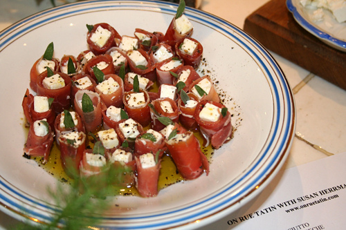 Fast Cook: French Appetizers: Dukkah & Feta Wrapped with Prosciutto