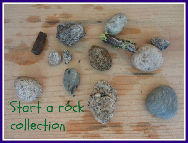 Start a rock collection