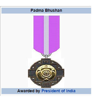 Padma Bhushan Awards 2016 Govt of india