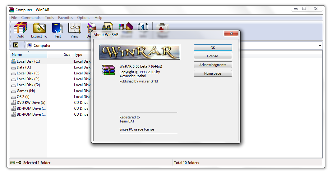 Winrar lifetime Crack