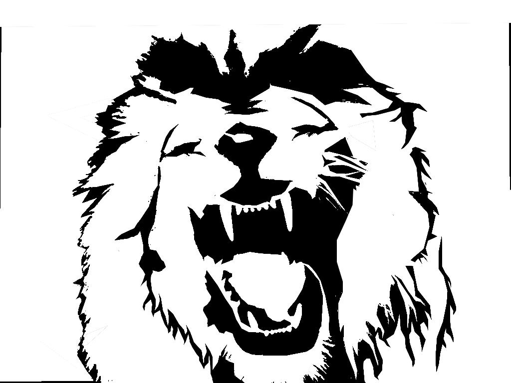 Line Drawing Lion Head : Lionu the aspiring illustrator