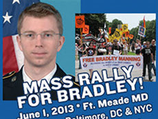 Call to Action-June 1-8: Take Part In The Week Of Action For Bradley Manning