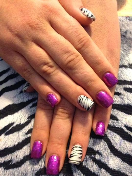acrylic backfill  animal print with hand painted nail art LED-polish-manicure-OPI-Nail-Polish-Lacquer-Pedicure-care-natural-healthcare-Gel-Nail-Polish-beauty-Acrylic-Nails-Nail-Art-USA-UK