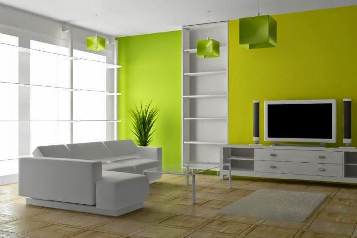 Green colour scheme for living room 2017 2018 best Wall paint colour combination