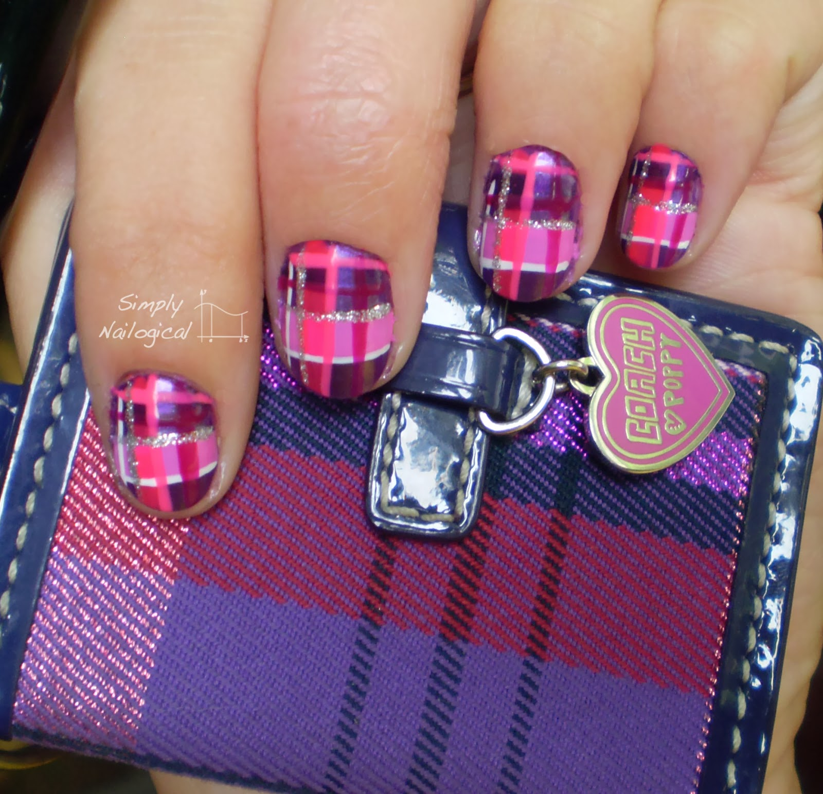 Simply Nailogical A Plaid Mani From The Archives Inspired By A