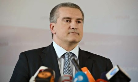Thủ tướng Crimea Sergei Aksyonov đã trả lời phỏng vấn của đài BBC