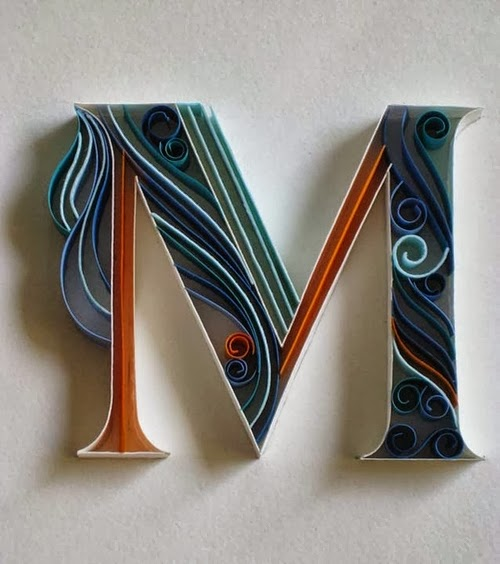 13-M-Quilling-Illustrator-Typographer-Calligrapher-Paper-Sculptor-Sabeena-Karnik-Mumbai-India-Sculptures-A-to-Z-www-designstack-co