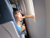 In the plane from Hong Kong