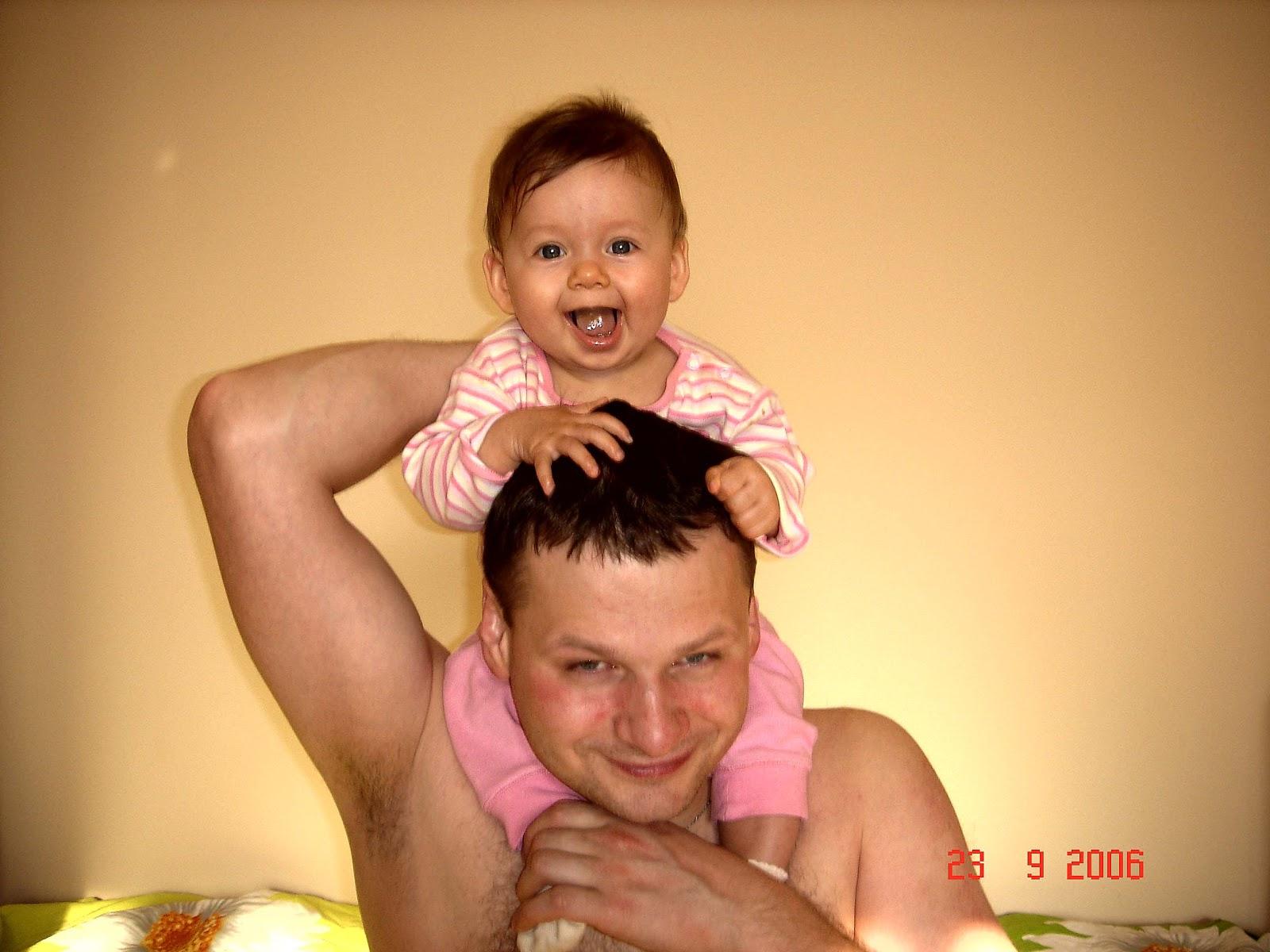 Комментарий к фото папа с ребенком