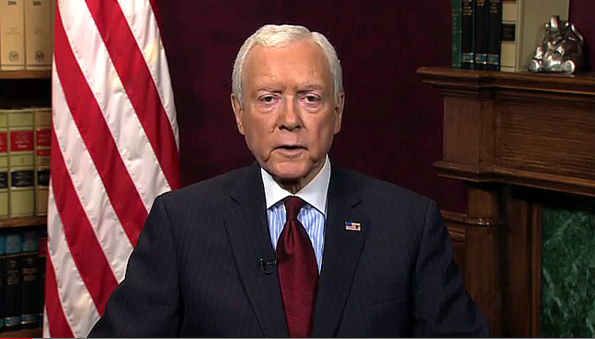 Orrin Hatch Weekly Republican Address