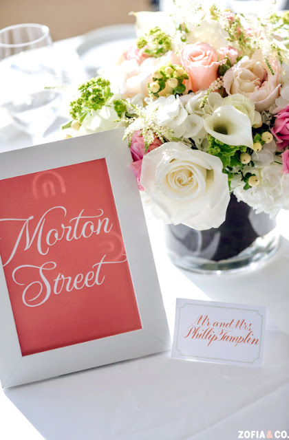 New York City Wedding Table Numbers