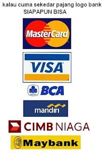 logo bank yang dipajang SL seakan kerjasama dengan bank