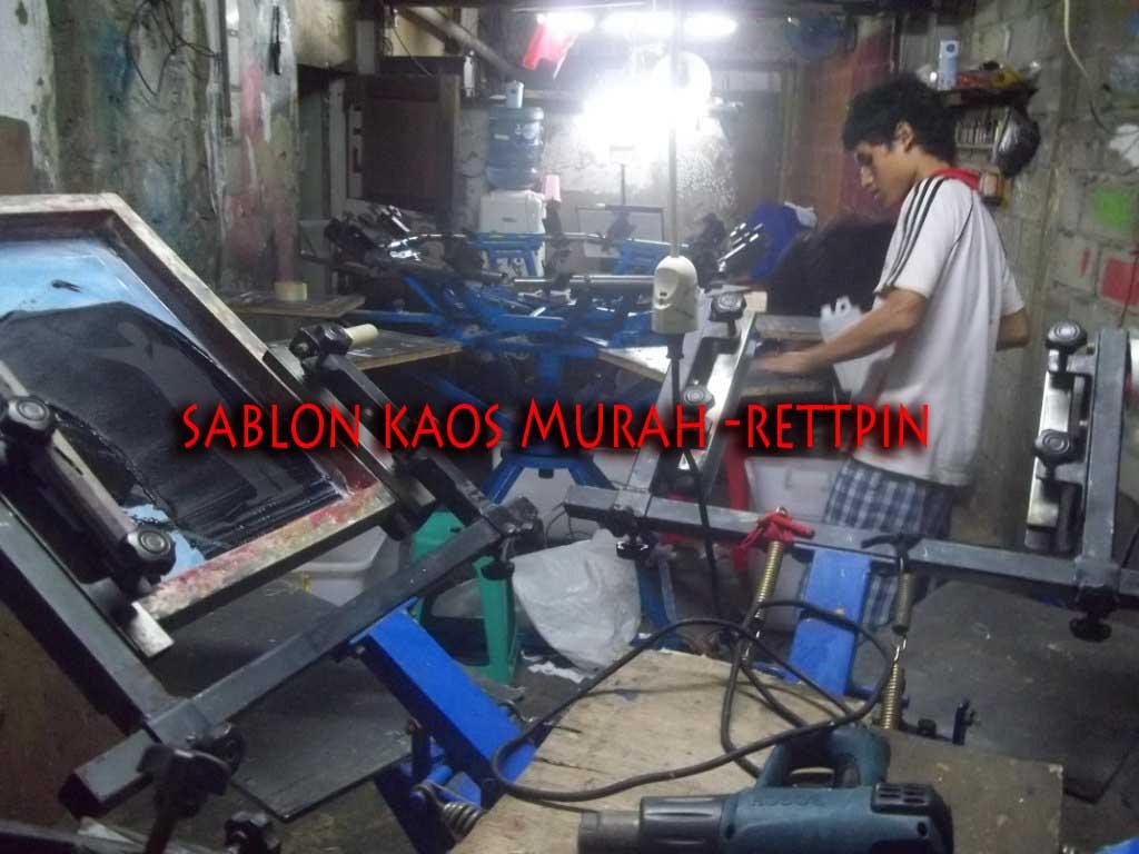 Sablon Kaos Murah Copy Harga Polos Di Jatinegara
