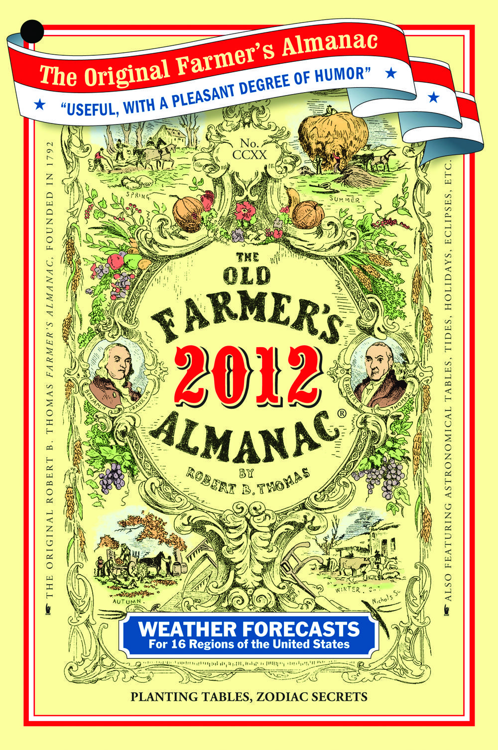 Robert B Thomas' The Old Farmer's Almanac has
