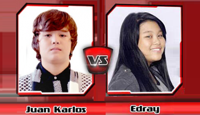 Juan Karlos and Edray of Team Bamboo Advanced to the Semi-finals on The Voice Kids PH
