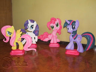 DECORACION DE MY LITTLE PONY CON ICOPOR