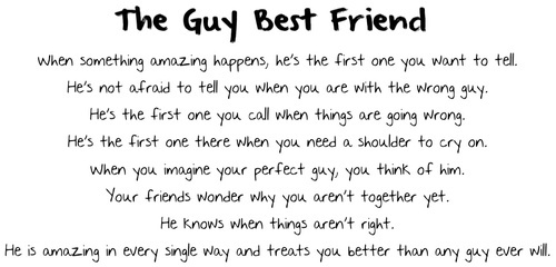 Liking Best Guy Friend a Guy Best Friend is Like