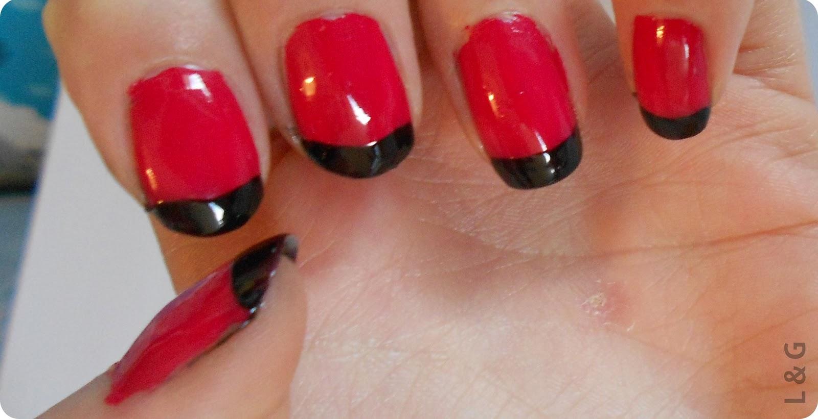 Notd Ladybug Nails Nail Art