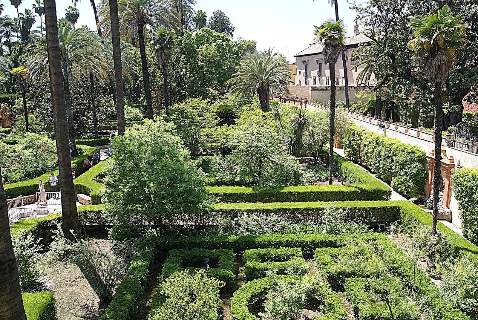Leyendas de sevilla reales alc zares de sevilla viii - Jardines verticales sevilla ...
