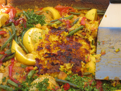 soccarat of the paella