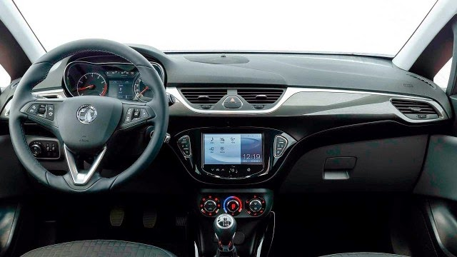Interior del nuevo Opel Corsa 2015