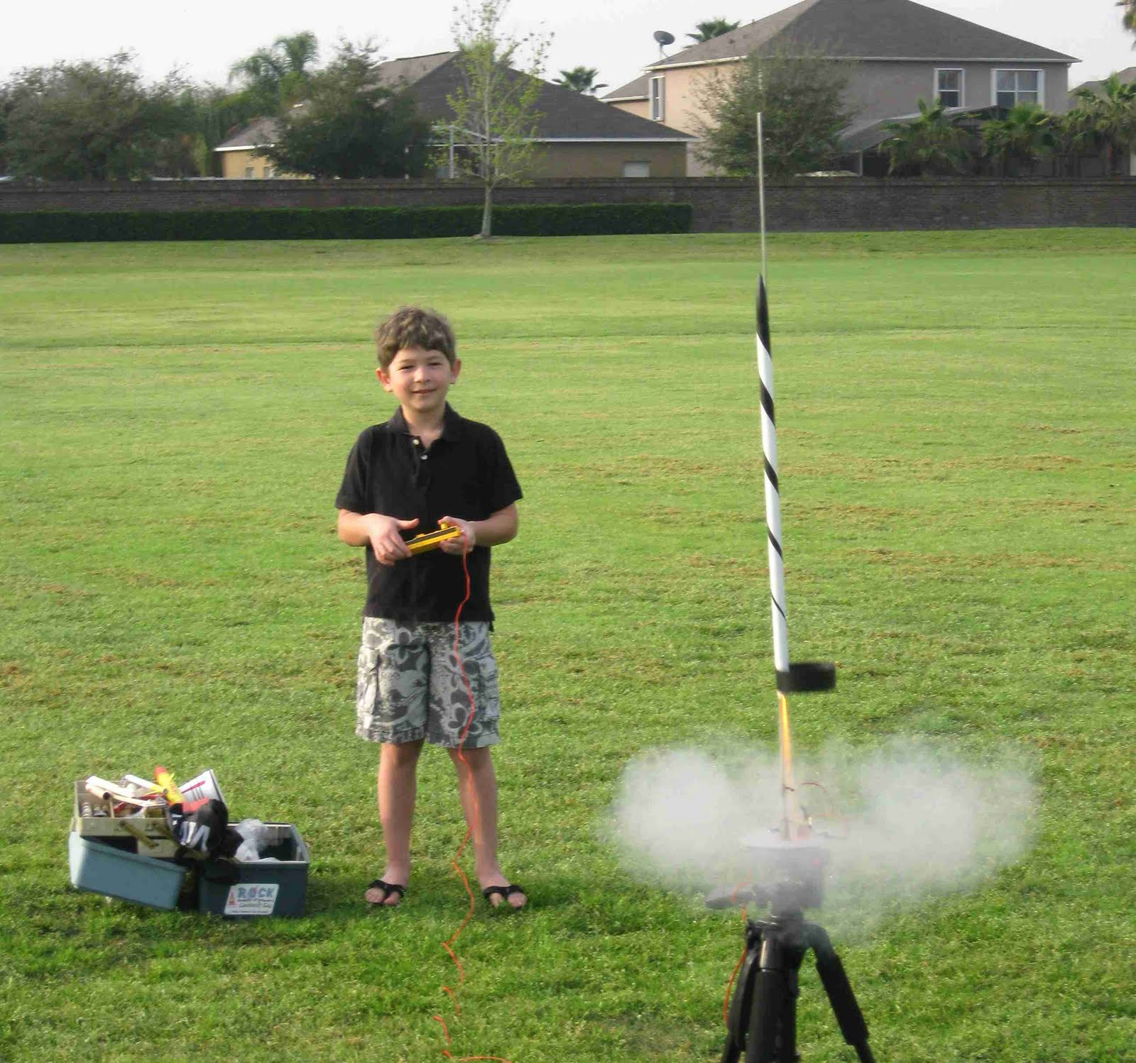 How to Launch a Model Rocket forecasting